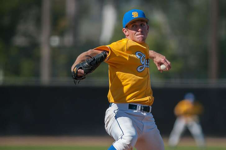 Giants' Class-A prospect Dominic Mazza, a Concord native, pitched three years at UC Santa Barbara before the Giants drafted him in the 22nd round of the 2015 draft.
