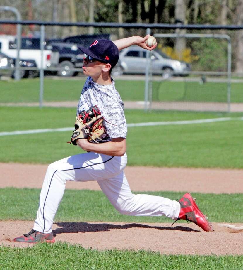 Reese at USA — Baseball/Softball 2017 Photo: Paul P. Adams/Huron Daily Tribune