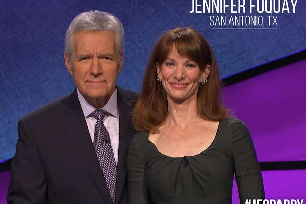 San Antonio mom of three, Jennifer Fuquay, said Alex Trebek took the sting out of her embarrassment at the end of the show.