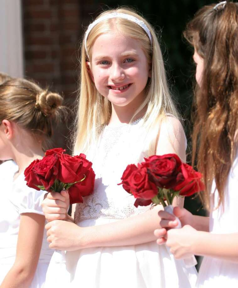 The 2010 Convent of the Sacred Heart graduation was held at the school on June 4. Photo: David Ames, David Ames/For Greenwich Time / Greenwich Time