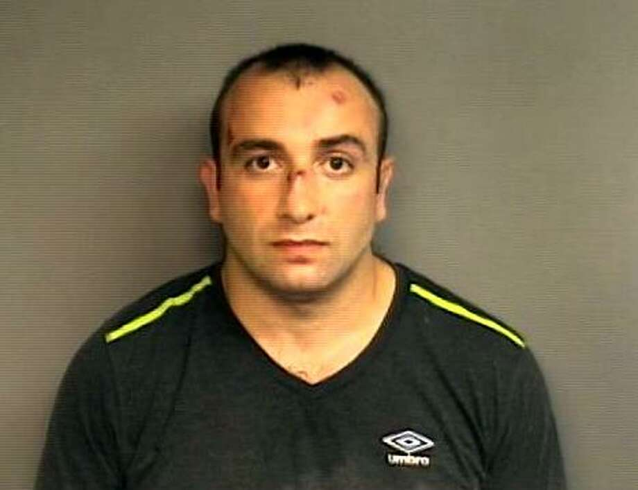 Shota Mekoshvili, 29, a citizen of the Republic of Georgia is on trial for the stabbing death of Mahomed Kamal. Kamal, a Stamford taxi driver was killed on Doolittle Road in Stamford, Conn., on Wednesday, August 27, 2014. Photo: Contributed Photo / Contributed Photo / Stamford Advocate  contributed