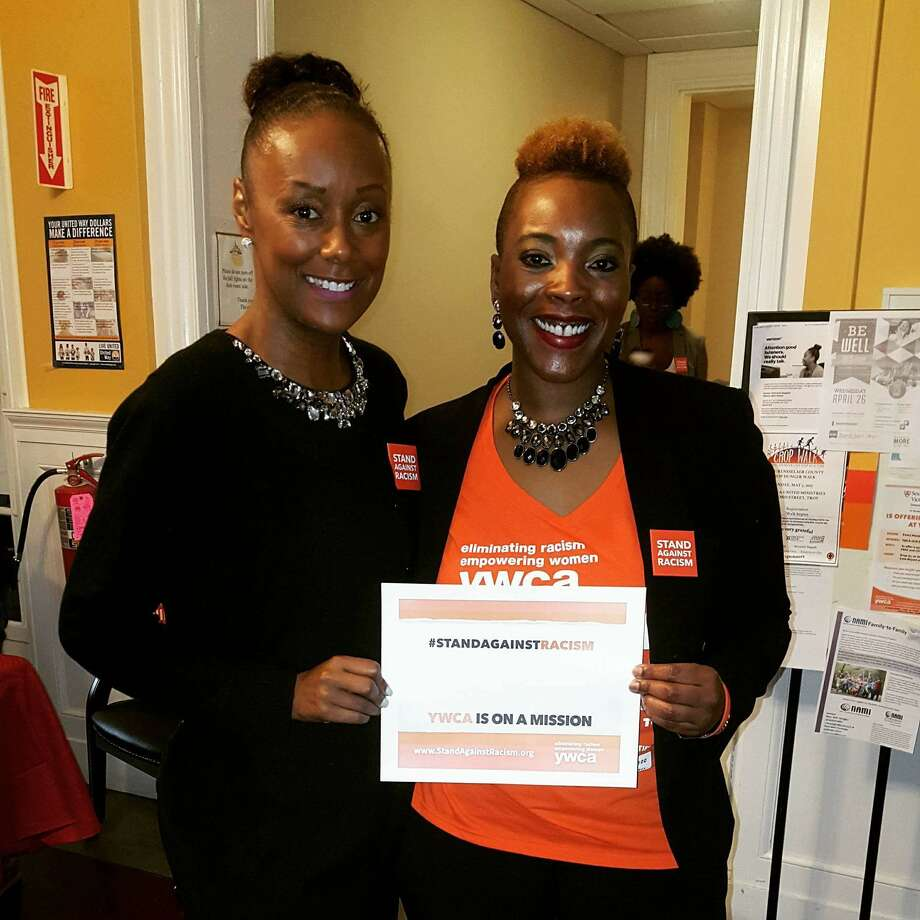 Were  you Seen at the YWCA of the Greater Capital Region's 2017 Stand Against  Racism on Thursday, April 27, 2017 at the YWCA in Troy, NY? Photo: Malissa Pilette-McClenon And Daquetta Jones