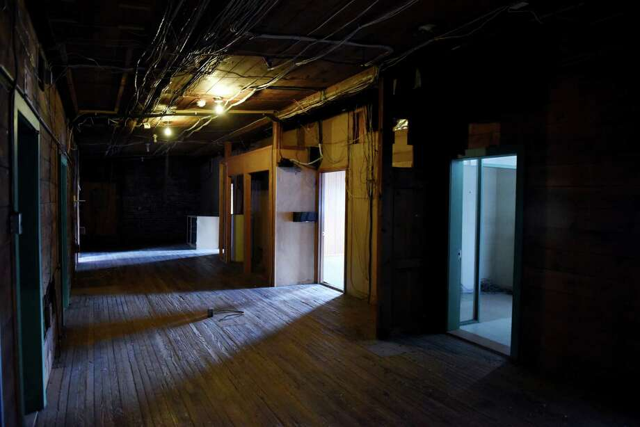 Interior view of a second floor room at the Lumberyard on Tuesday, Jan. 10, 2017, on Water St. in Catskill, N.Y. The Lumberyard, formerly the American Dance Institute, is converting a former lumberyard in the heart of the village of Catskill into its summer home, due to open in spring 2018. The multimillion-dollar project will bring jobs and dance companies and is part of a growing cultural identity for Catskill. (Will Waldron/Times Union) Photo: Will Waldron / 20039382A