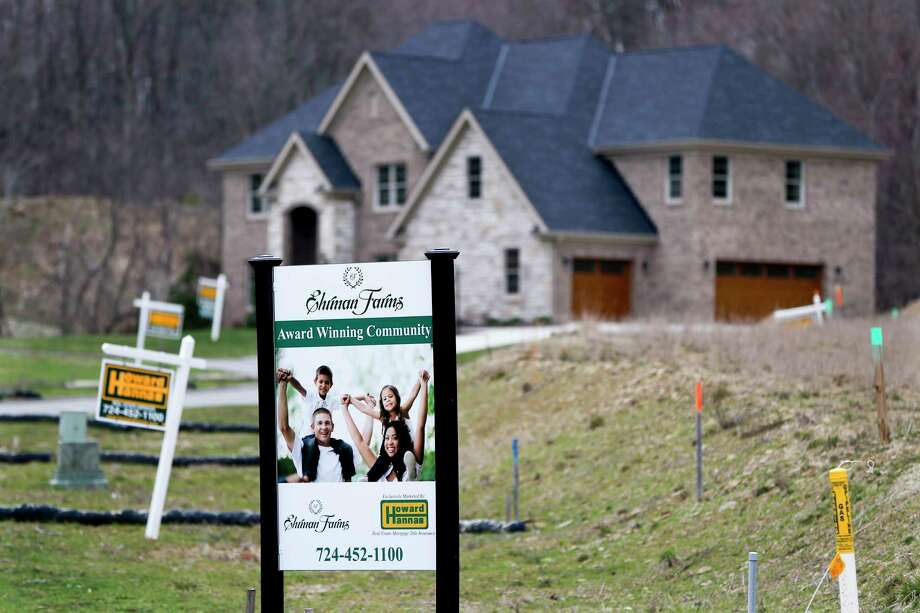 Sales of new homes shot up in March to the fastest pace in eight months in a positive sign for the broader economy.  Photo: Keith Srakocic, STF / Copyright 2017 The Associated Press. All rights reserved.