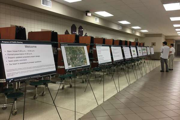 The Texas Department of Transportation held a public hearing for the proposed improvements to FM 1960 from BF 1960 -A to Atascocita Shores.