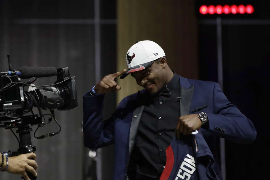 """Feels like he was the best QB in the draft""""It's like a slap in the face, to be honest,"""" Watson told Josina Anderson of ESPN about possibly not being the first quarterback taken. """"You see all the things I've accomplished, it's a long list, and they want to talk about the little negatives I have and bring somebody else up? It's a little disrespectful."""" Photo: Matt Rourke/Associated Press"""
