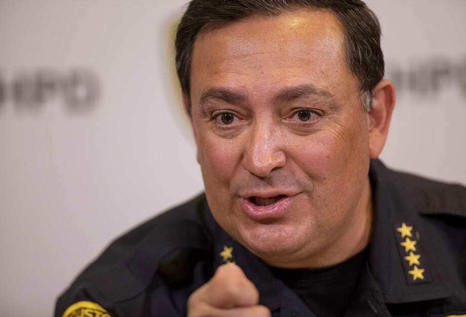 Houston Police Chief Art Acevedo says the bill would redirect HPD's limited crime-fighting resources. Photo: Godofredo A. Vasquez, Staff / Godofredo A. Vasquez