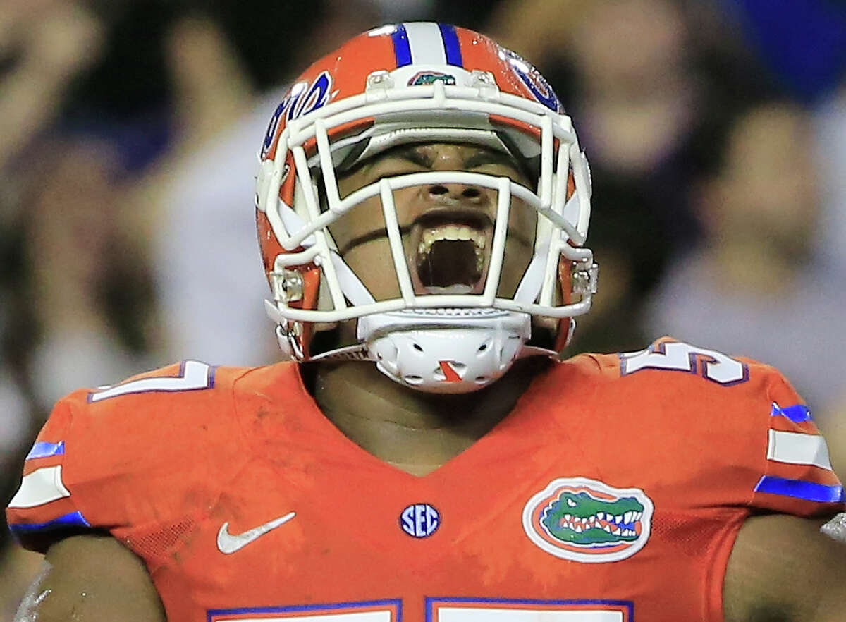 DL Caleb Brantley, Florida Notes: The former Gator was considered one of the best interior defenders in the draft, but his stock fell after an April arrest that led to misdemeanor assault charges.