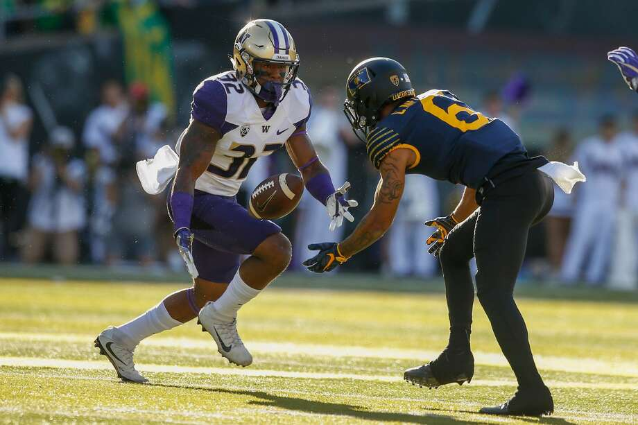 DB Budda Baker, WashingtonNotes: The playmaking defensive back is undersized, but could find a home somewhere as a roaming free safety who can also play in the slot. Photo: Otto Greule Jr/Getty Images