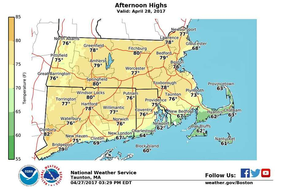 Warmer Weather Brings Showers & Thunderstorms