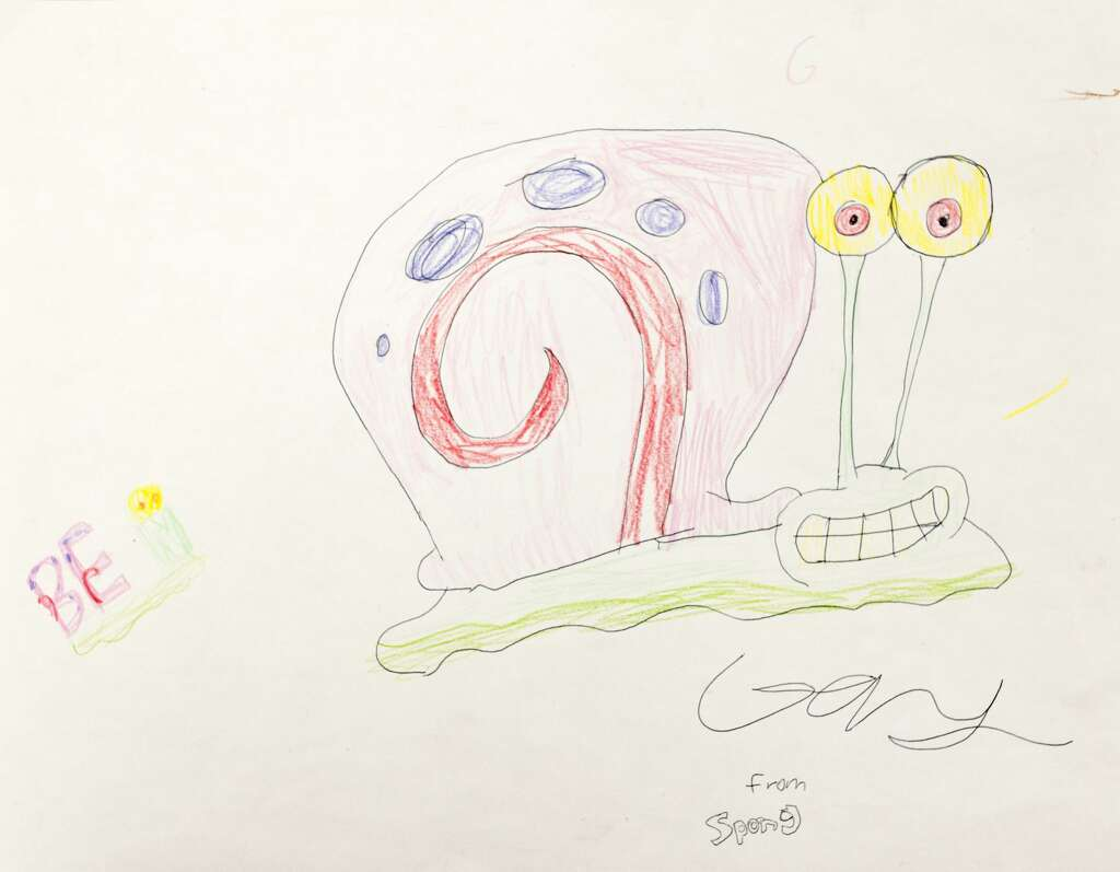 student gains recognition for spongebob art midland daily news