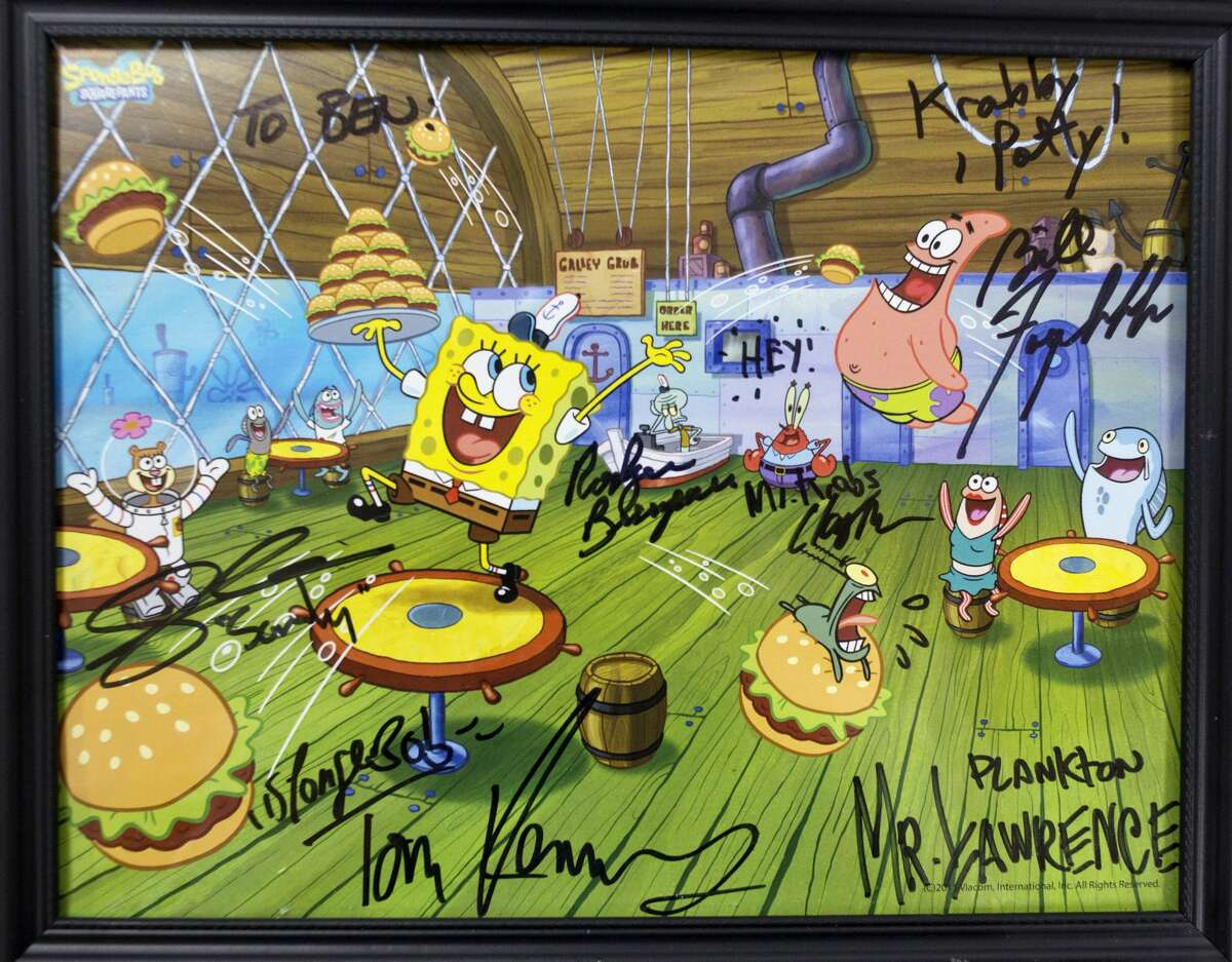 Sixth-grader Benjamin Stebleton, 12, drew a picture of Gary the Snail from Spongebob, sent it to Nickelodeon, and the show's cast sent him back an autographed pictured.