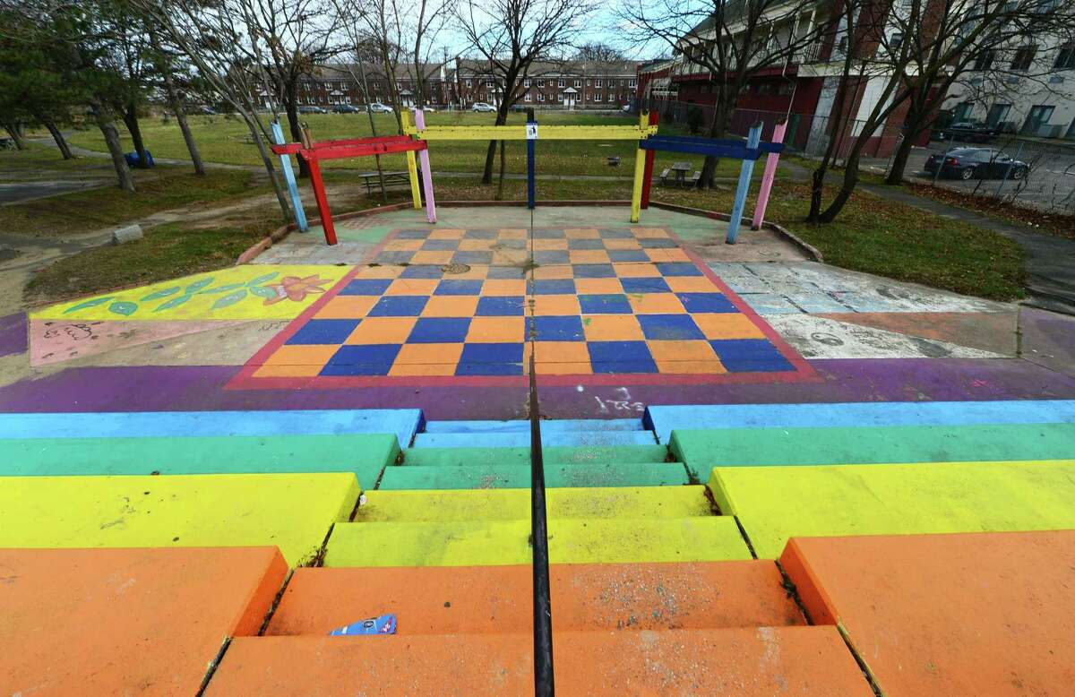 Ryan Park Saturday, December 10, 2016, in Norwalk, Conn. Rayn Park will close due to renovation work as part of the Choice Neighborhoods project in South Norwalk.