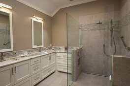 This is an example of aging-in-place master bathroom remodel.