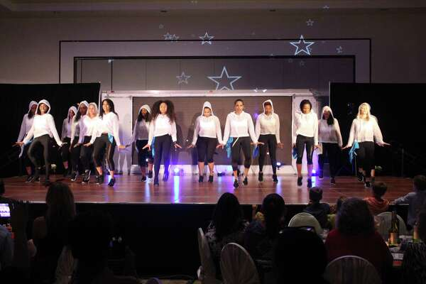 The Dancing with The Lake Houston Stars kicked off their 9th annual fundraising event with a number of choreographed dances all to help raise funds for the YMCA's Annual Campaign.