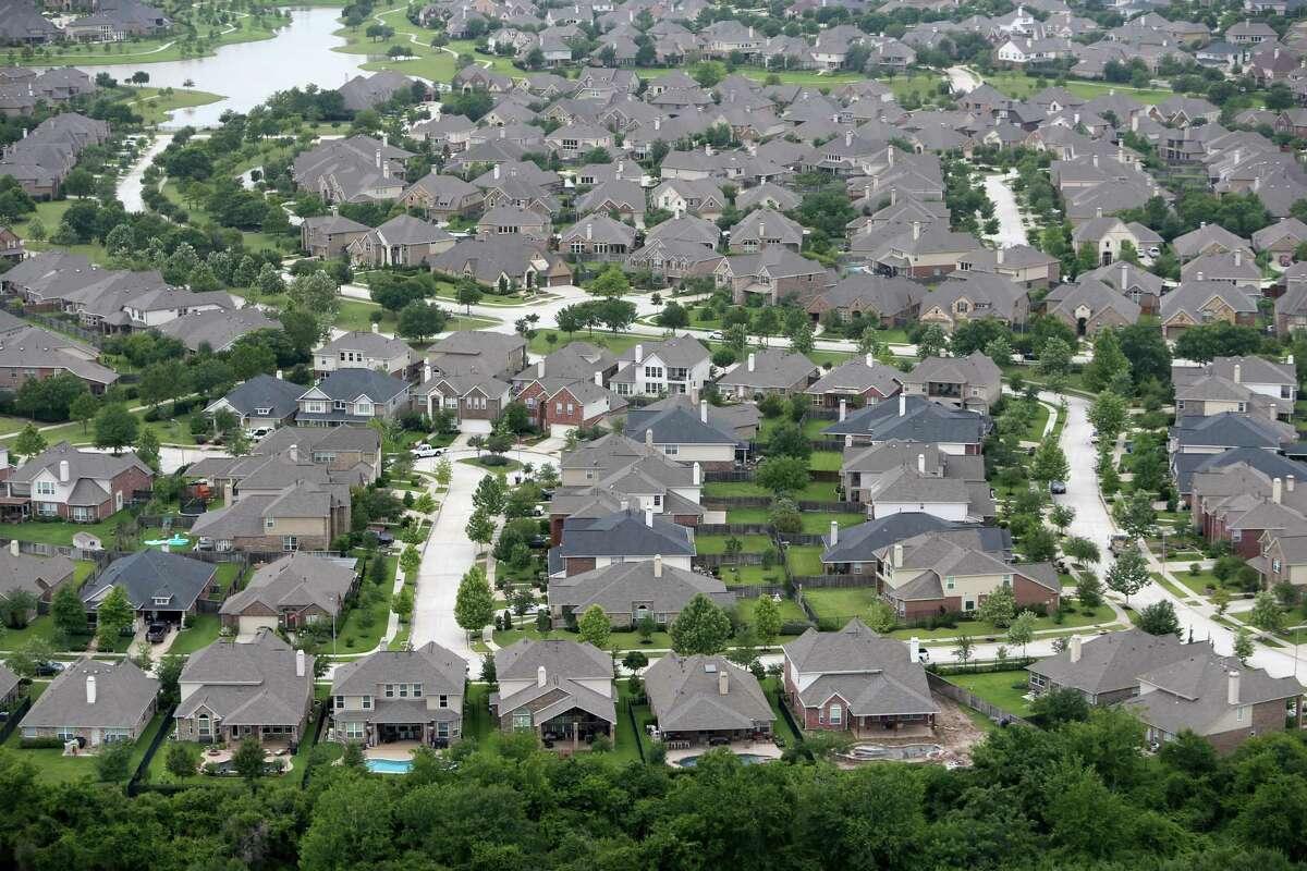 Bridgeland master planned community, Tuesday, May 17, 2016, in Cypress, Texas. Bridgeland is an 11400-acre, 19,000 home, master planned community in the northwest Houston suburb of Cypress. ( Gary Coronado / Houston Chronicle )