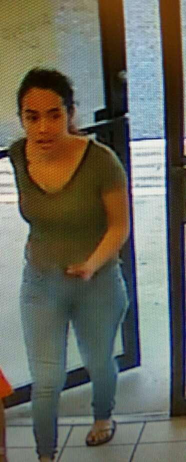 Laredo detectives are currently highlighting several females alleged of stealing cologne for the purposes of identification. Photo: Laredo Police Department