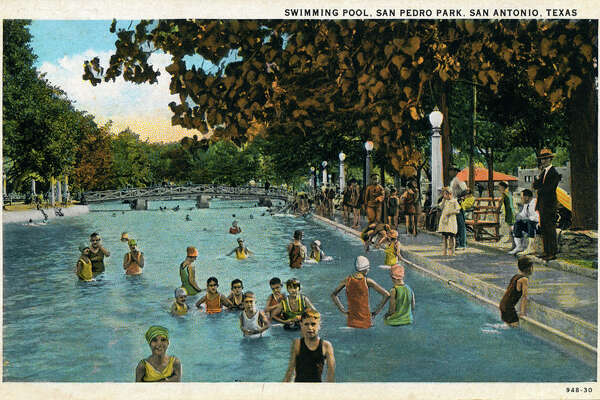 Vintage postcards show San Antonio parks in the early, mid-1900s ...