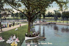 San Pedro Park, San Antonio, Texas (1908)  Source:edwardsaquifer.net