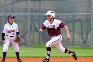 Cy Fair's Mackenzie Crews made a diving catch to close the third inning and hold Westside scoreless.