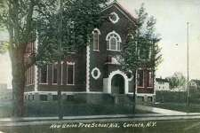 Historic image of Corinth School on Main Street. (Provided)