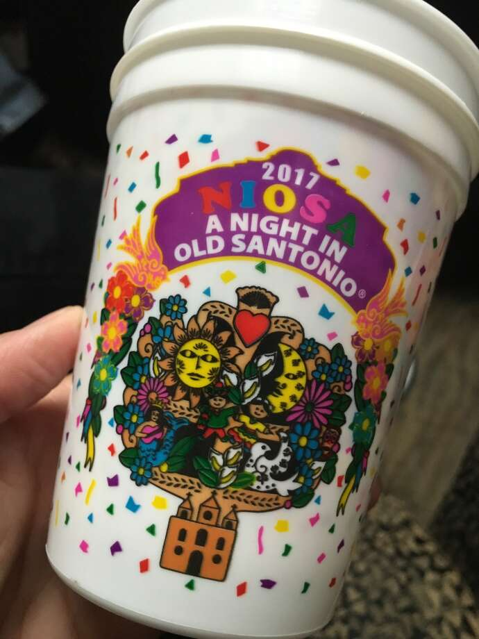 """""""A Night in Old Santonio"""" is what the popular Fiesta event is called, according to this year's cup."""