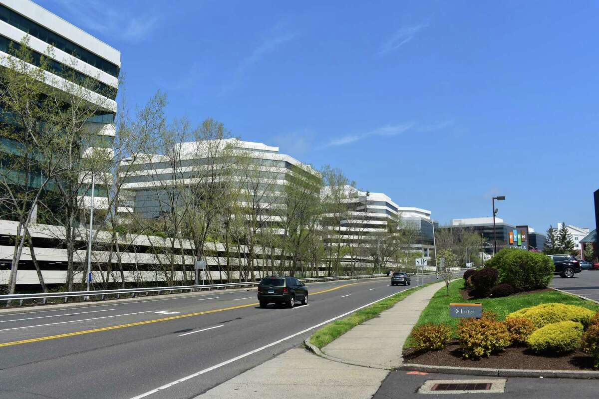 The Merritt 7 Corporate Park in April 2017 in Norwalk, Conn., home to corporations like Xerox, FactSet Research and Frontier Communications. On April 26, President Donald Trump unveiled his plan for a 15 percent corporate tax, with CEOs withholding predictions of the impact on their future investments as they await details from the White House.