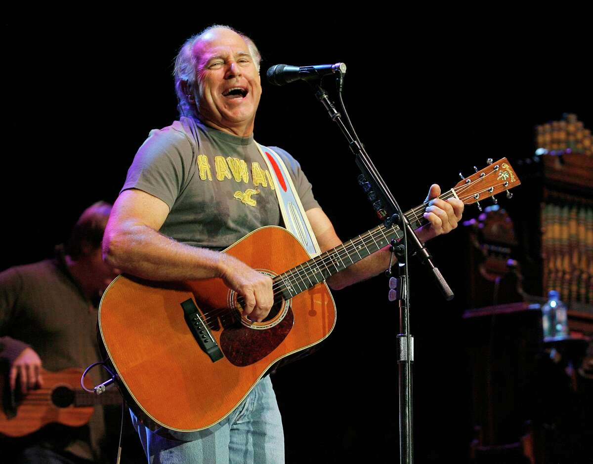 Jimmy Buffett and the Coral Reefer Band plays at the Bridge School Concert at the Shoreline Amphitheatre in Mountain View, California on October 24, 2009.