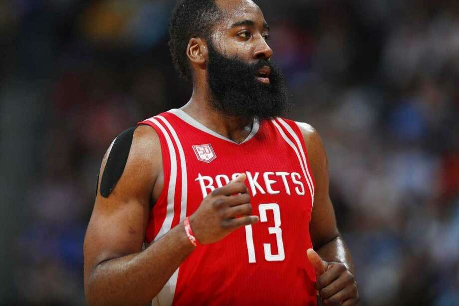 Houston's James Harden has emerged as one of the NBA's most dynamic players and a leading candidate for 2017 NBA MVP. Photo: David Zalubowski / Associated Press