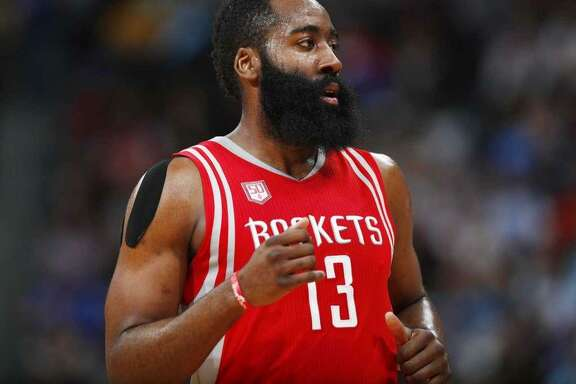 Houston's James Harden has emerged as one of the NBA's most dynamic players and a leading candidate for 2017 NBA MVP.