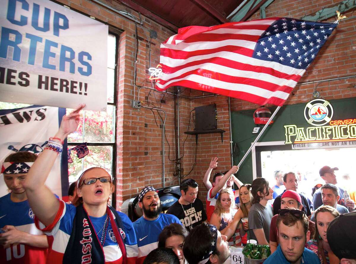 >>>Click through to seethe best bars in Houston to watch Megan Rapinoe, Alex Morgan and the U.S. women's national soccer team face the Netherlands in the World Cup Final at 10 a.m. on Sunday morning.