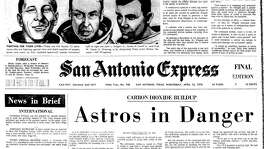 CARBON DIOXIDE BUILDUP: Astros in Danger. Front page of Apollo 13 mission