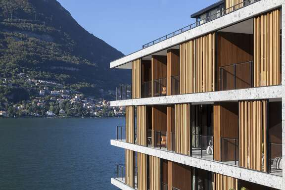 Il Sereno, the first newly constructed hotel on Italy�s Lake Como in years, now includes a full-service spa.