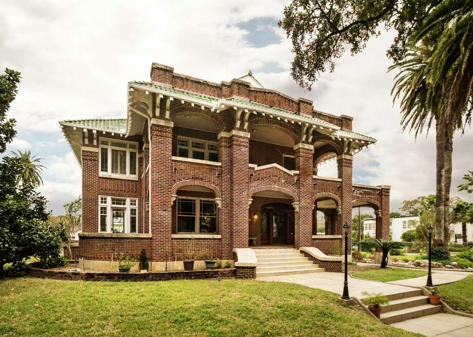 The 1916 Hans and Marguerite Guldmann House will make its third appearance on the Galveston Historic Homes Tour the next two weekends. Photo: Illumine Photographic Services