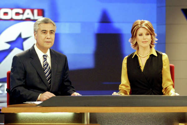 Bill Balleza co-anchors the Channel 2 (KPRC) newscast with Dominique Sachse. His contract expires in 2021, 50 years after he began as a TV news reporter.