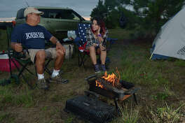 There are plenty of places to camp near Houston.
