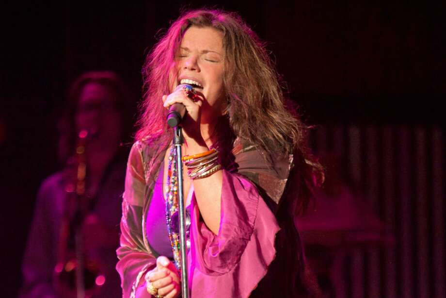 "Mary Bridget Davies, who starred in Broadway's ""A Night With Janis Joplin,"" is bringing her band to the Palace Danbury to perform Joplin's hits plus some serious R&B classics and original tunes, on Saturday, May 6. Photo: Courtesy Of Mary Bridget Davies / Contributed Photo"