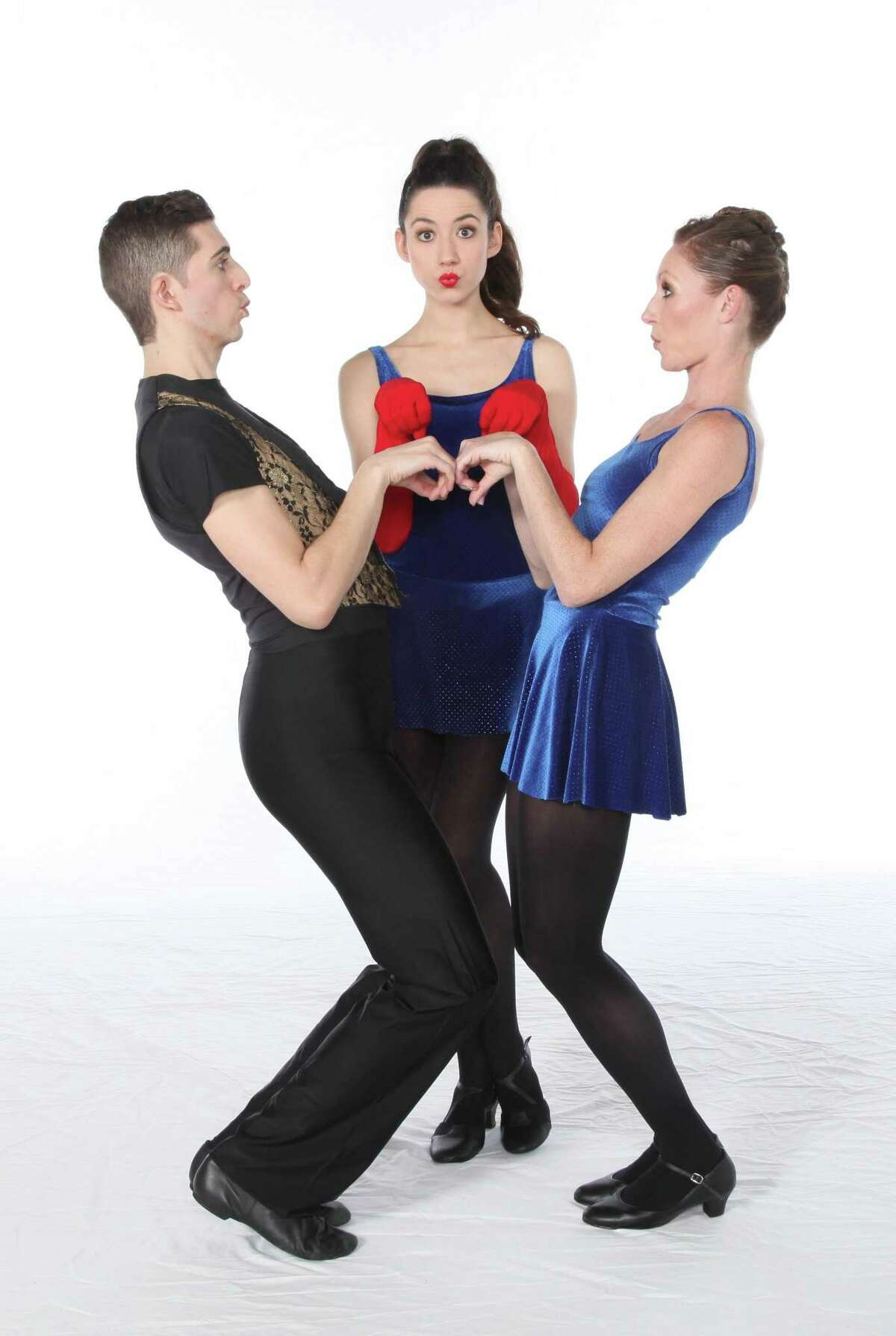Connecticut Ballet's 35th anniversary event will include a tribute to Bob Fosse. From left, Morgan Stinnett, Claire Mazza and Melissa Weber, all Connecticut Ballet soloists.
