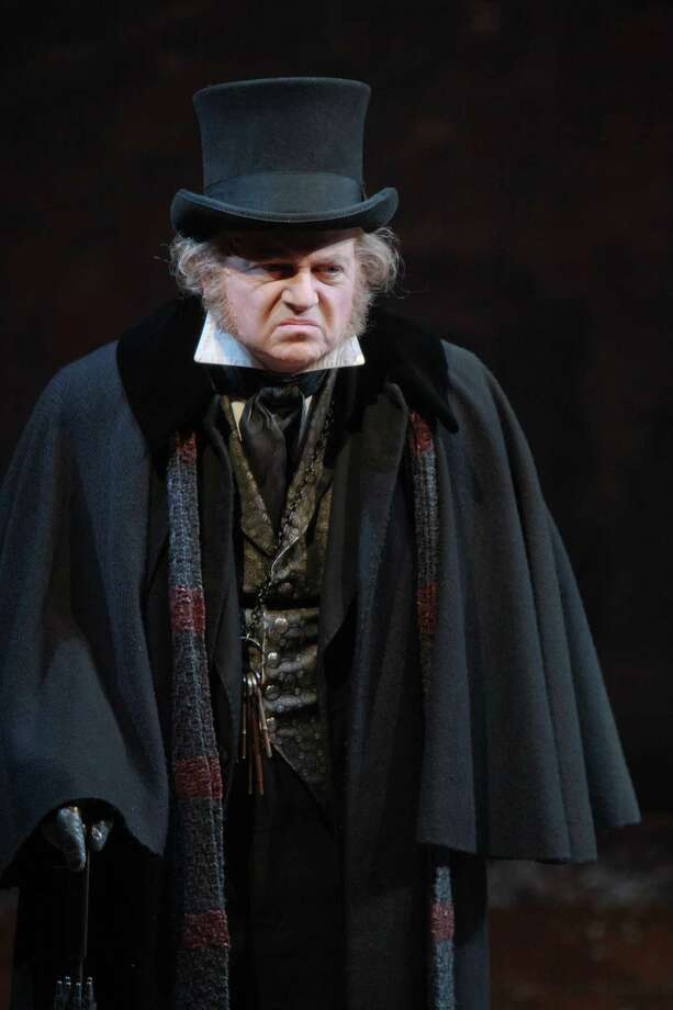 "Alley Theatre's ""A Christmas Carol - A Ghost Story of Christmas"" runs Dec. 2-31. Photo: Gary Fountain, Freelance / Copyright 2013 Gary Fountain."
