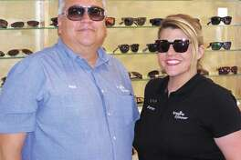 Made with the shades  Imagine Eyewear owner Paul Garza  and daughter Shannon can help you get ready for summer with cool shades  like these. They're also offering a Mother's Day discount of 30 percent  on frames and lenses now through Mother's Day.