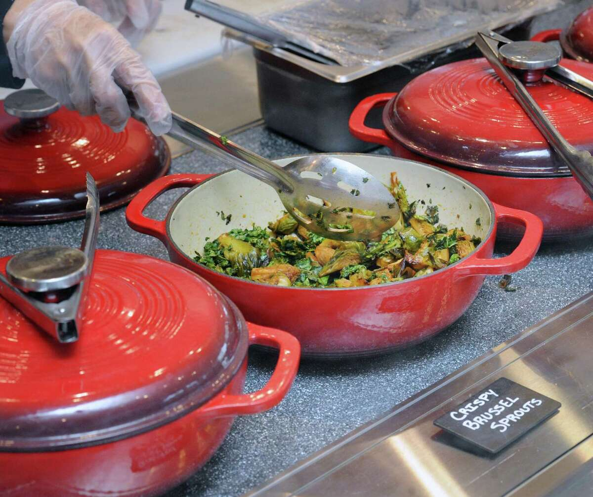 Crispy brussel sprouts are on the menu at Mix Creative Kitchen