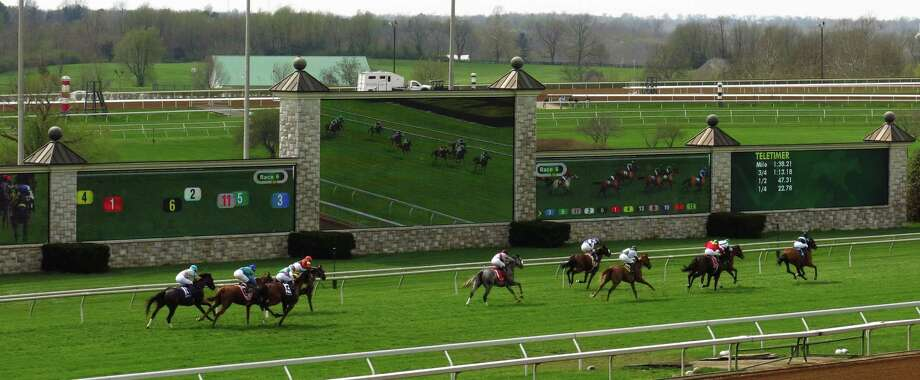 Keeneland in Lexington, Ky. Photo: Amy Laughinghouse