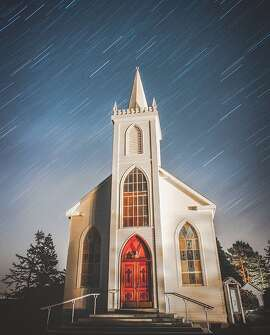 @mikemcc took this stunning time lapse photo of Saint Teresa of Avila Church