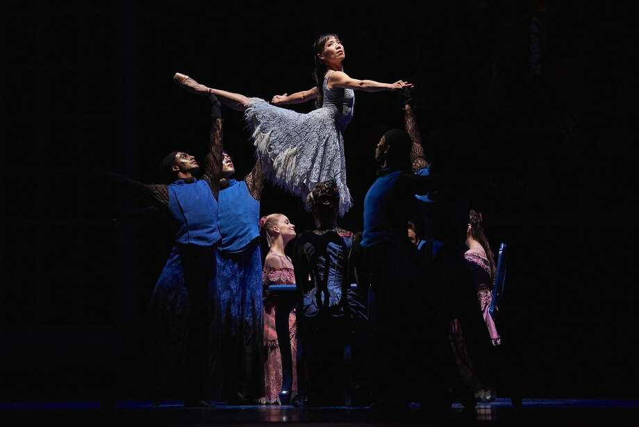 """Frances Chung expresses a world of emotion with movement in the revival of Christopher Wheeldon's """"Cinderella"""" at the War Memorial Opera House. Photo: Erik Tomasson Erik Tomasson, � Erik Tomasson"""