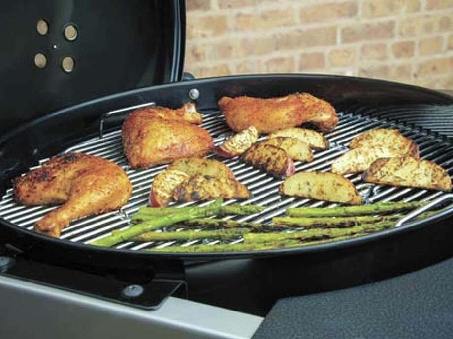 Save 15 percent between now and Memorial Day at American Home Improvement on Weber Grills and on Primo grills and smokers. And, if you buy a Traeger smoker, you'll get three bags of Traeger pellets for free! See more at www.ahi-texas.com. Photo: Courtesy Photo