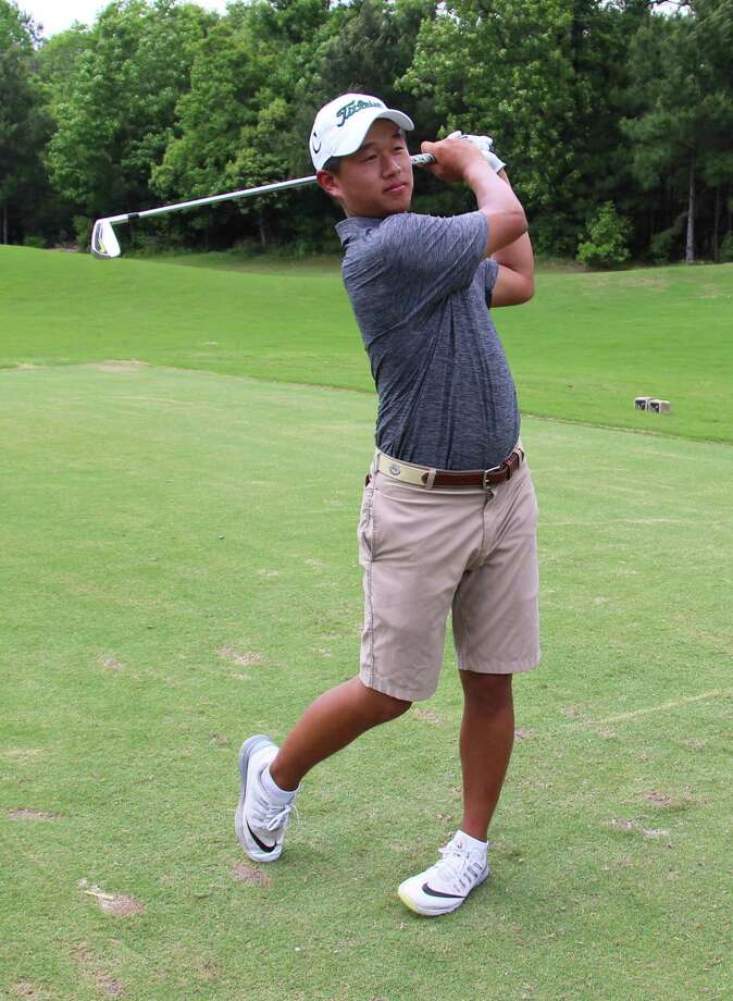 John Cooper golfer Ben Wong won the Southwest Preparatory Conference title earlier this week. Photo: Submitted Photo