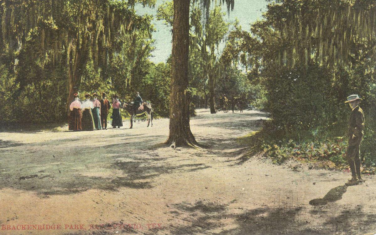 Brackenridge Park, San Antonio, Texas Source:edwardsaquifer.net