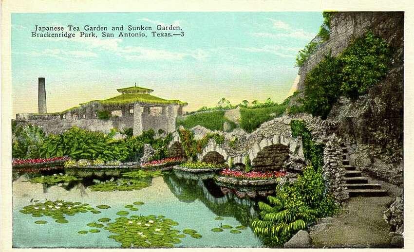 Japanese Tea Garden and Sunken Garden, Brackenridge Park, San Antonio, Texas Source:edwardsaquifer.net