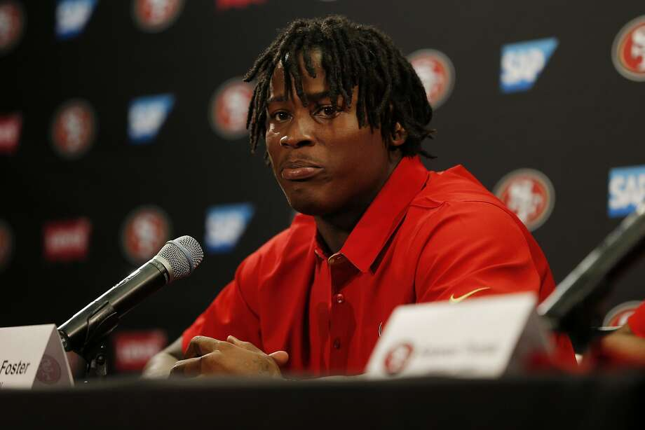 49ers linebacker Reuben Foster was charged Thursday by the Santa Clara County district attorney's office with felony domestic violence. Photo: Santiago Mejia, The Chronicle