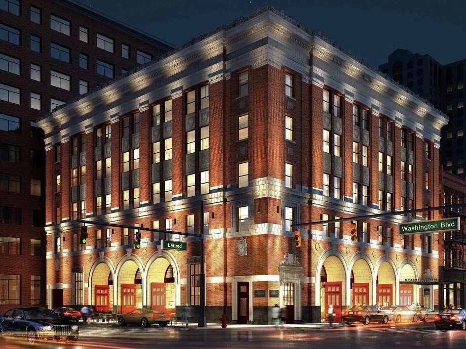 Firehouse Hotel Restaurant Detroit